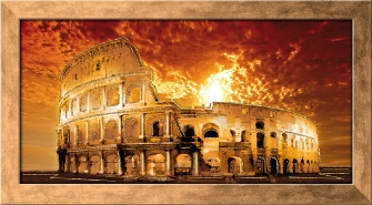 ROMA - COLOSSEUM Red