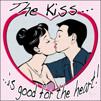 THE KISS IS GOOD