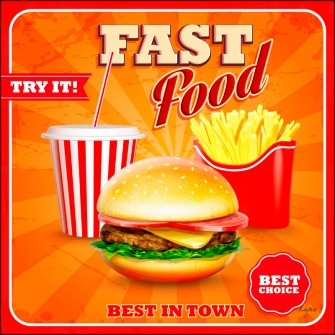 FAST FOOD Red