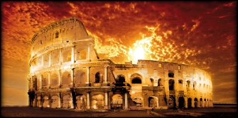 Roma COLOSSEO ROSSO