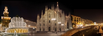 MILANO - COLLAGE NOTTE