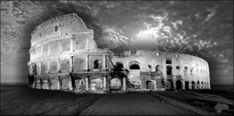 ROMA - COLOSSEO Black