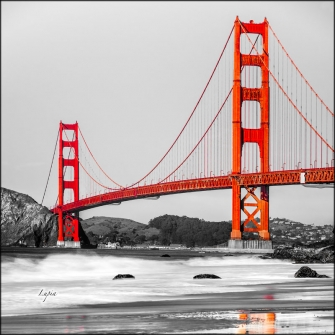 GOLDEN GATE ON THE RIVER