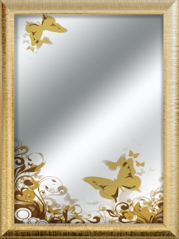 SHARON BUTTERFLY Oro
